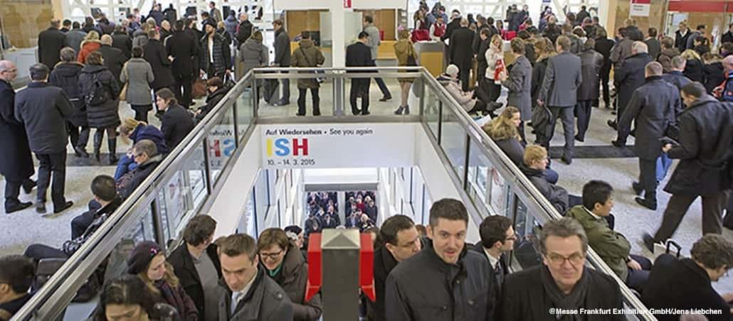 Bild zu Artikel: Trends und News: Neues von der ISH-Messe